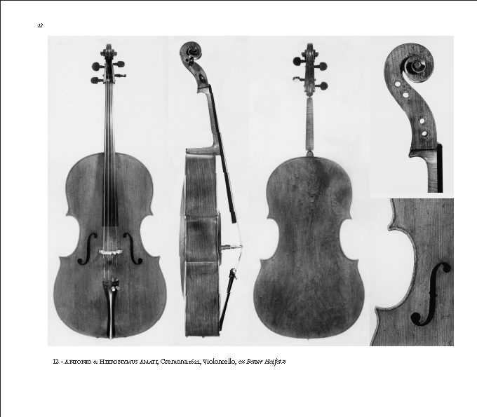 A+H Amati cello